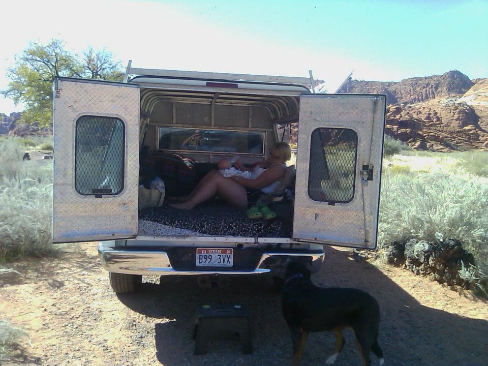 Truck camping mybraincancer truck camping sciox Choice Image